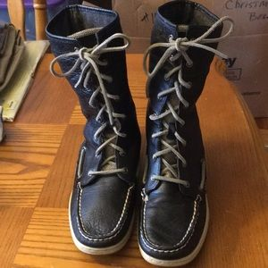 EUC Sperry Top Sider boots🤗